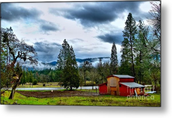 Oregon Farm Blessing Metal Print