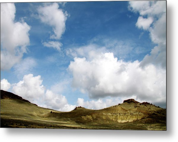 Oregon Trail Country Metal Print