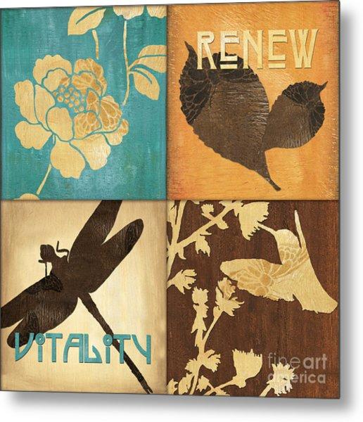 Organic Nature 4 Metal Print