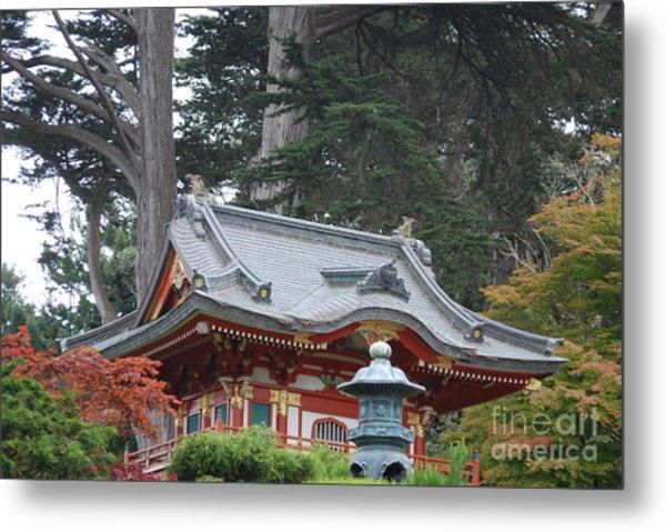 Oriental Garden #1 Metal Print