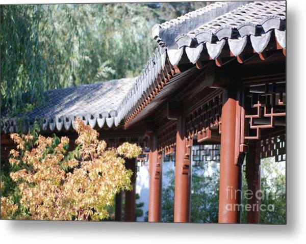 Oriental Roof Metal Print