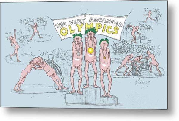 Original Olympics Metal Print