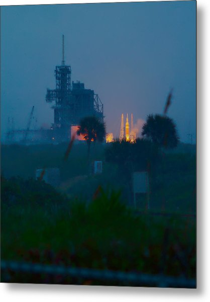 Orion Eft-1 Liftoff Metal Print
