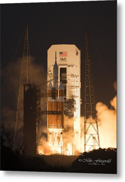 Orion Launch Metal Print