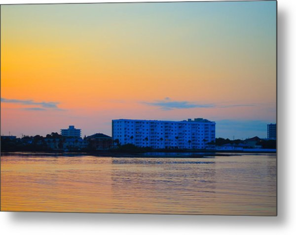 Ormond Beach Metal Print by Karl Davis