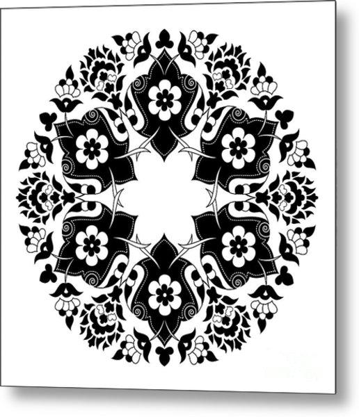 Ornament And Design Ottoman Decorative Metal Print