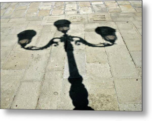 Ornate Shadow Metal Print
