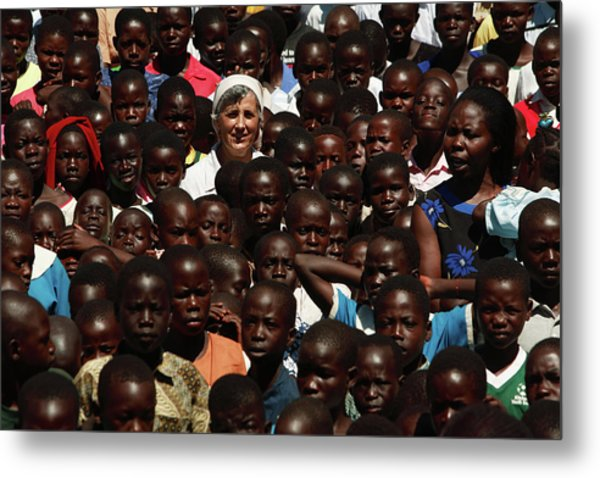 Orphaned Refugees Metal Print