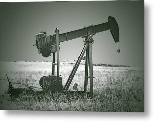 Orphans Of The Texas Oil Fields Metal Print