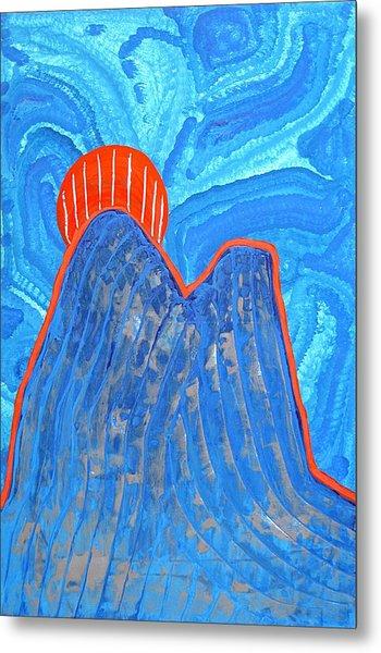 Os Dois Irmaos Original Painting Sold Metal Print
