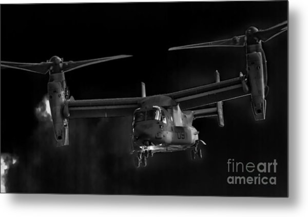Osprey Night Ops Metal Print