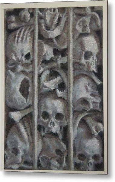 Ossuary Metal Print