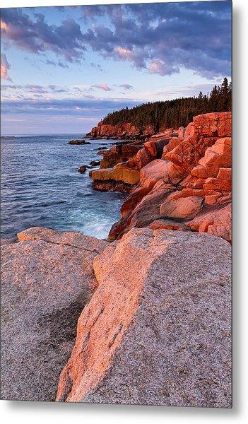 Otter Cliffs At First Light Metal Print