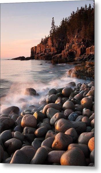 Otter Cliffs Metal Print