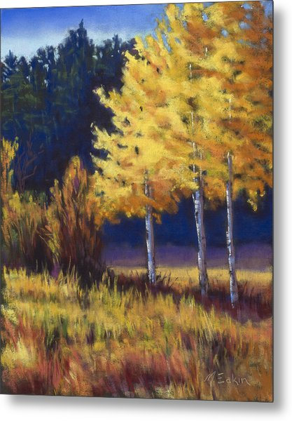 Our Brilliant Fall Metal Print