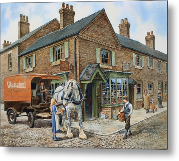 Our Daily Bread Metal Print by Anthony Forster