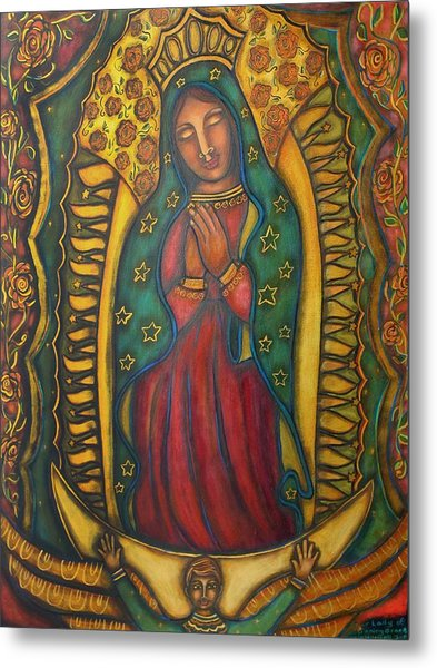 Our Lady Of Glistening Grace Metal Print by Marie Howell Gallery