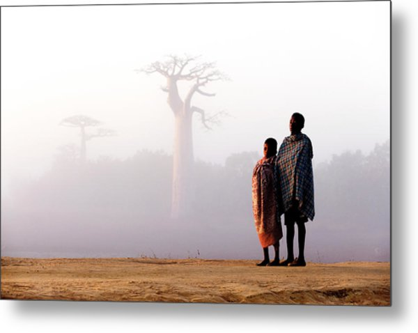 Our Way To Madagascar 2016 Metal Print