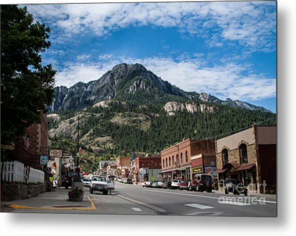 Ouray Main Street Metal Print