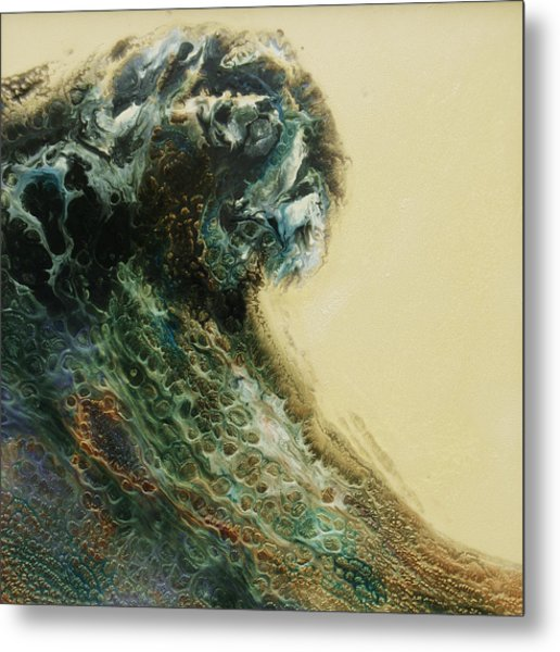 Out Of The Depths Sold Metal Print by Lia Melia