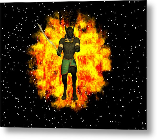 Out Of The Flames Metal Print