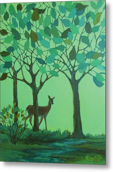 Out Of The Forest Metal Print