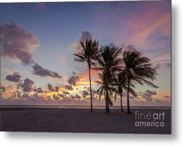Out Of The Sky Came The Lights Metal Print