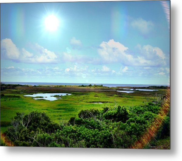 Outer Banks Tranquility Metal Print