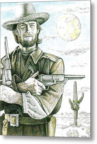 Outlaw Josey Wales Metal Print
