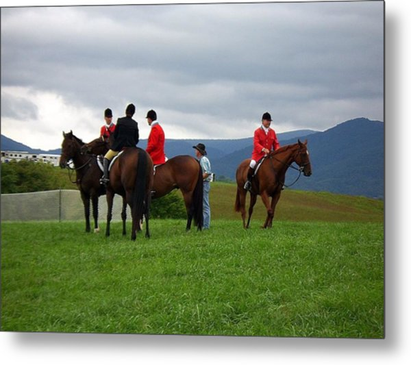 Outriders Metal Print