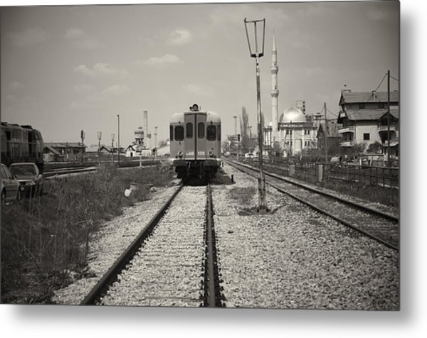 Outside The Station Metal Print