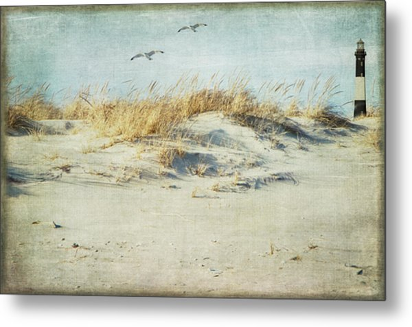 Over The Dune Metal Print