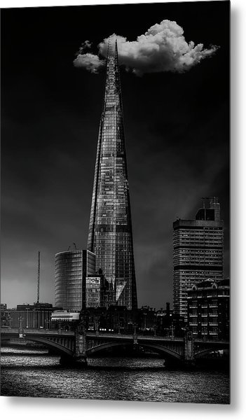 Over The Shard Metal Print by Jackson Carvalho