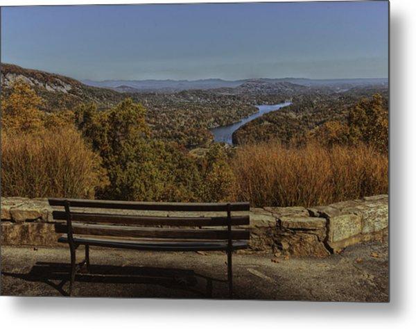 Overlooking Lake Lure Metal Print