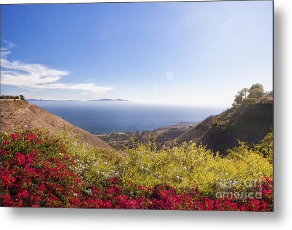 Overlooking Palos Verdes Estates Metal Print