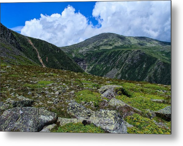 Metal Print featuring the photograph Overlooking Tuckerman by Jeff Sinon