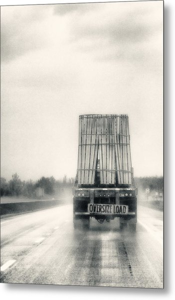 Oversized Load Metal Print