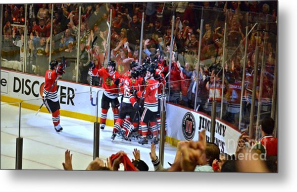 Overtime Game Winner Metal Print