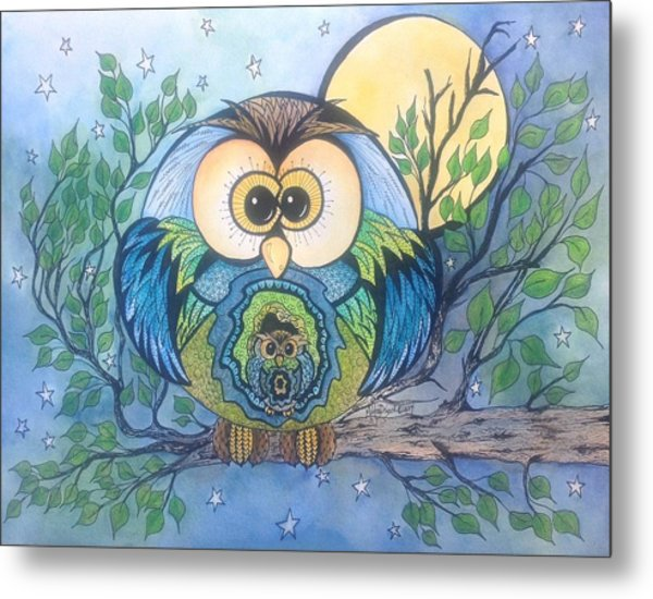 Owl Take Care Of You Metal Print