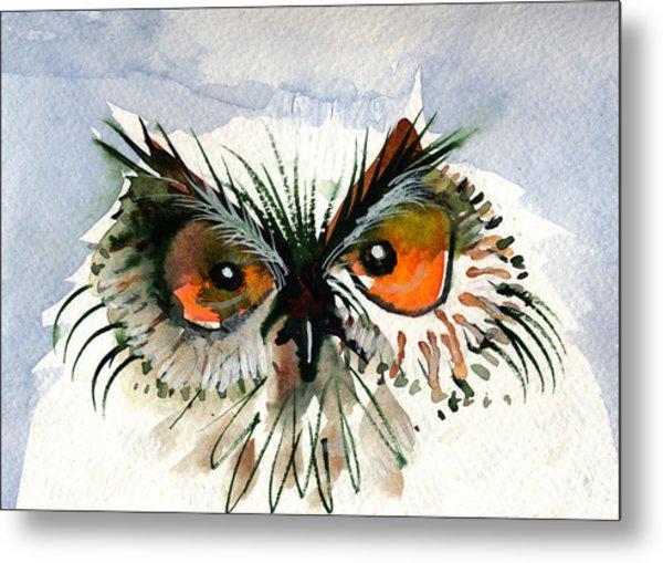 Owlitude Metal Print
