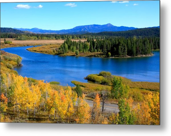 Oxbow Bend, Grand Teton National Park Metal Print