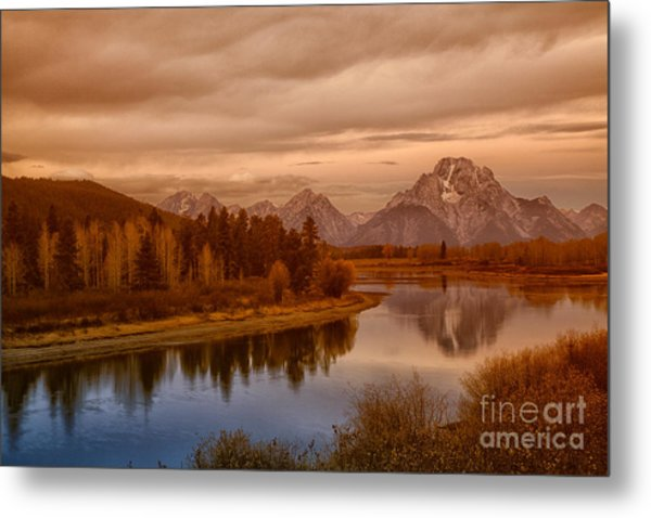 Oxbow Morning Metal Print