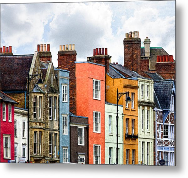 Oxford Medley Metal Print