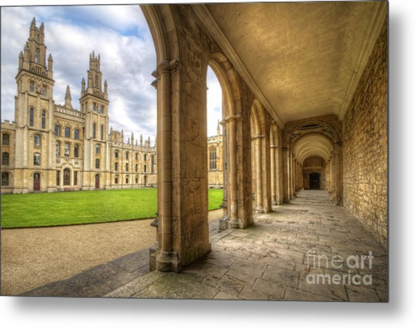 Oxford University - All Souls College 2.0 Metal Print