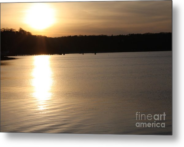 Oyster Bay Sunset Metal Print