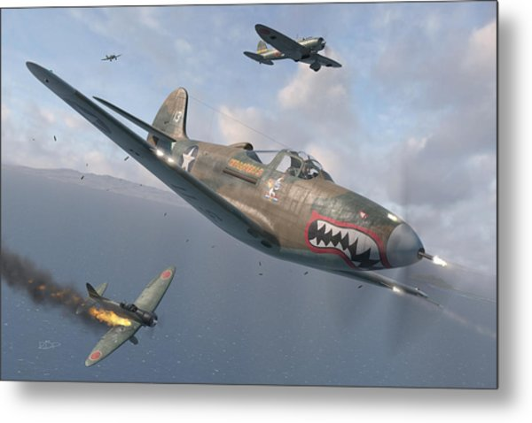 P-400 Hells Bells Metal Print