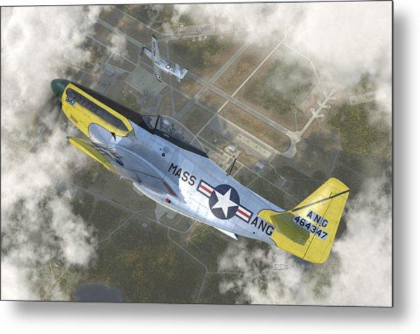 P-51 H Metal Print