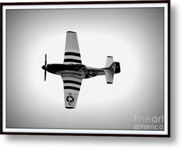 P51 King Of The Skies Metal Print