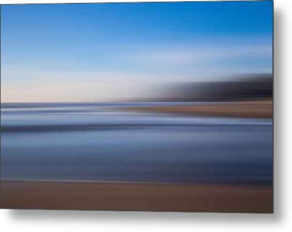 Pacific Coast Abstract Metal Print