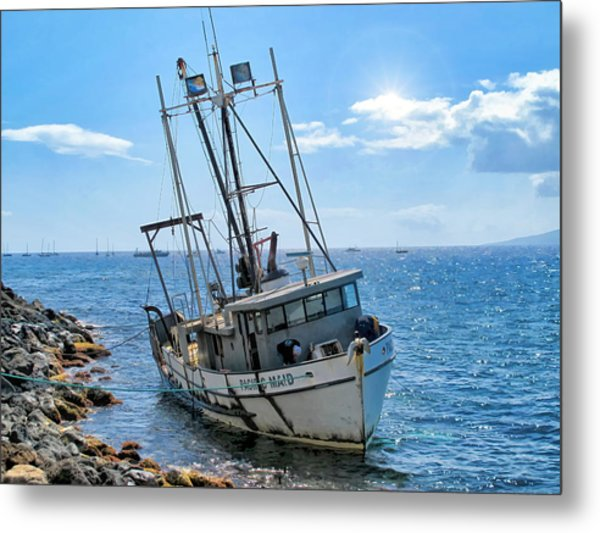 Pacific Maid 2 Metal Print